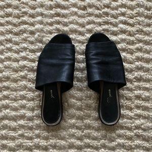 Robert Clergerie Flat Slide Sandals
